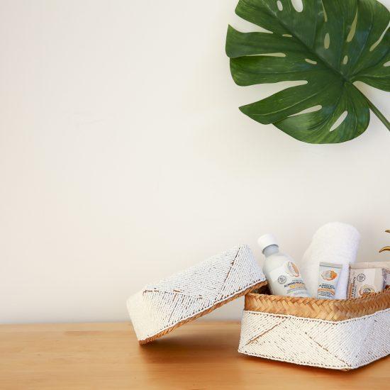 handmade bamboo basket