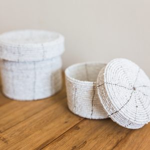 bali bliss Budi set beaded baskets