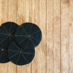 bali bliss Komang set beaded coasters