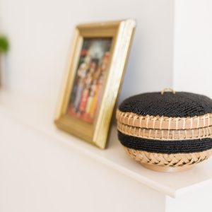 bali bliss Nyoman beaded basket