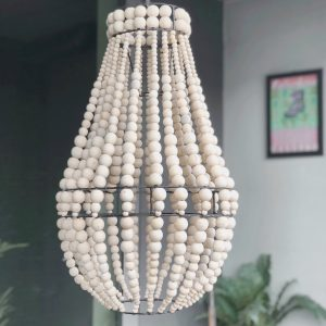 chahaya beaded chandelier