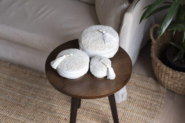 balibliss andhika set beaded baskets