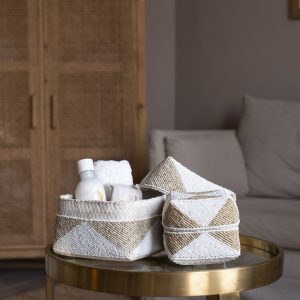 balibliss asmara set beaded baskets