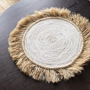 balibliss bumi seagrass and raffia placemat