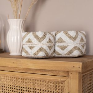 balibliss intan set beaded baskets