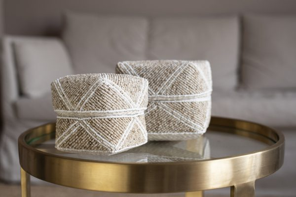 balibliss mentari set beaded baskets