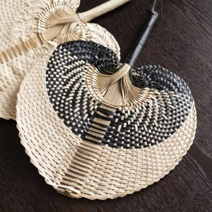 balibliss reva handwoven fan