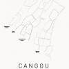 poster canggu white