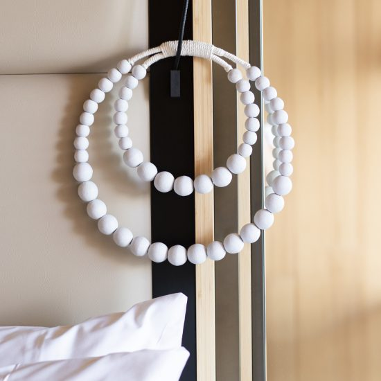 bali bliss wall hanger beads