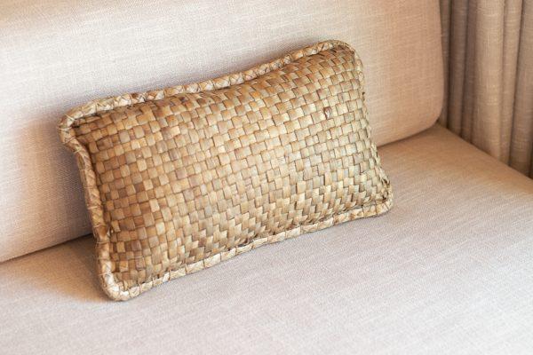 banana leaf cushion cover