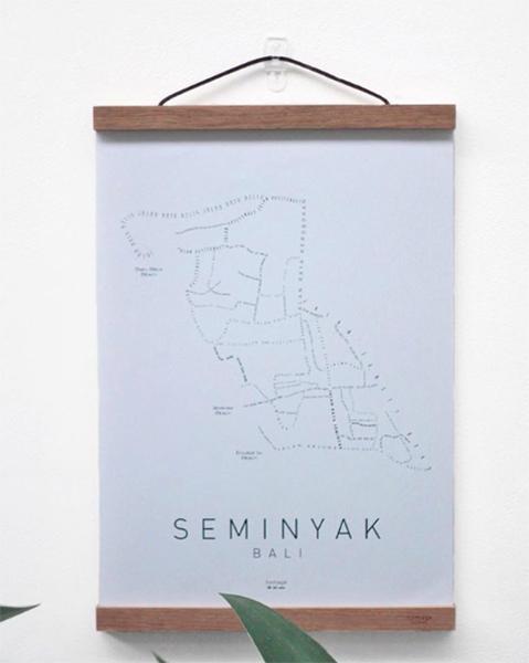 poster seminyak white