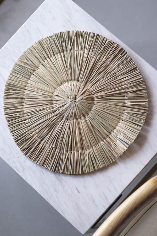 harta grass straw placemat