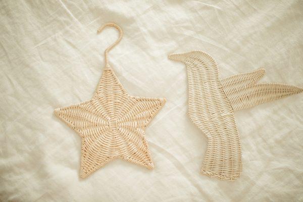 rattan hanger star