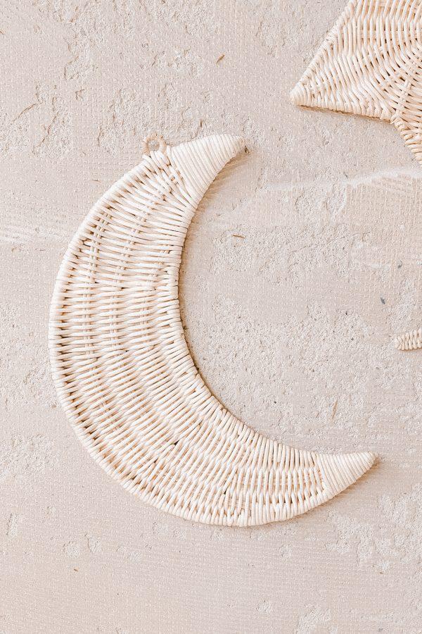 bali bliss moon wall hanger