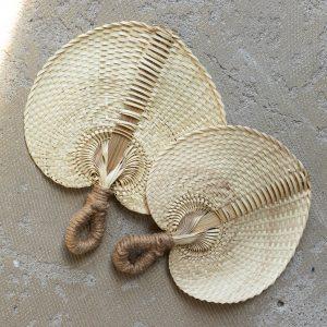 Handwoven fan